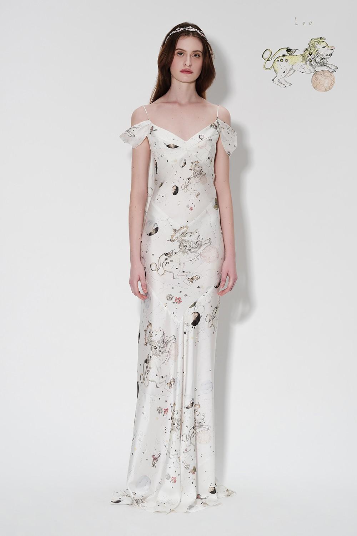 Zodiac Slip Dress