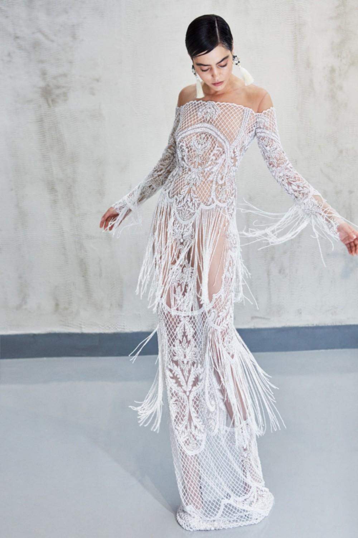 India dress - white